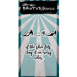 Brutus Monroe - Clear Acrylic Stamps - Shoes in Every Color