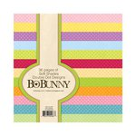 BoBunny - Double Dot Designs Collection - 6 x 6 Paper Pad - Soft Shades