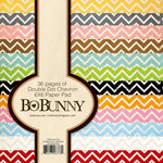 BoBunny - Double Dot Collection - 6 x 6 Paper Pad - Chevron