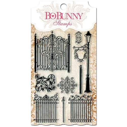 BoBunny - Essentials Collection - Clear Acrylic Stamp - Gateway