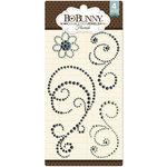BoBunny - Double Dot Designs Collection - Bling - Flourish Jewels - Aqua