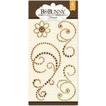 BoBunny - Double Dot Designs Collection - Bling - Flourish Jewels - Citrus