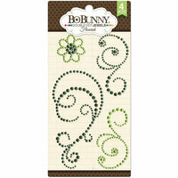 BoBunny - Double Dot Designs Collection - Bling - Flourish Jewels - Emerald
