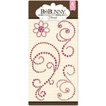 BoBunny - Double Dot Designs Collection - Bling - Flourish Jewels - Think Pink