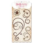 BoBunny - Essentials Collection - Bling - Jewels - Chocolate