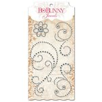 BoBunny - Essentials Collection - Bling - Jewels - Glaze