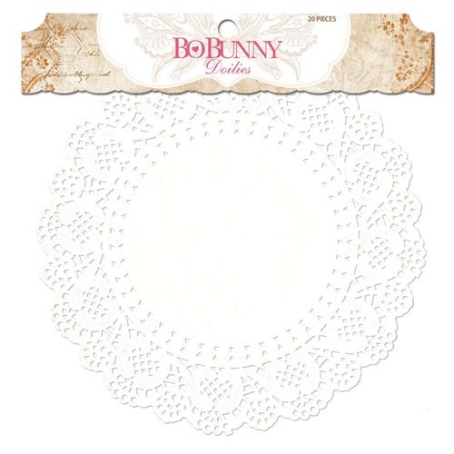 BoBunny - Essentials Collection - Large Doilies