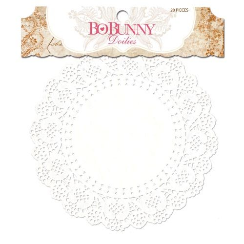 Bo Bunny - Essentials Collection - Medium Doilies
