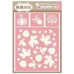 BoBunny - Stickable Stencils - Falling Leaves