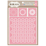 BoBunny - Stickable Stencils - Kaleidoscope