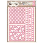 BoBunny - Stickable Stencils - Lots of Love