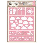 BoBunny - Stickable Stencils - Summertime