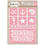 BoBunny - Stickable Stencils - Under The Sea