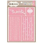 BoBunny - Stickable Stencils - Serenity