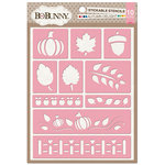 BoBunny - Stickable Stencils - Autumn Delight
