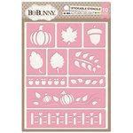 BoBunny - Stickable Stencils - Autumn Delight