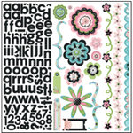 Bo Bunny Press - Alissa Collection - 12 x 12 Cardstock Stickers - Alissa Combo, CLEARANCE