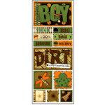 Bo Bunny Press - U Bug Me Collection - Cardstock Stickers - Bug Boy