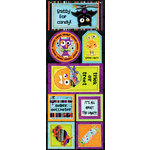 Bo Bunny Press - Whoo-ligans Collection - Halloween - Cardstock Stickers - Batty for Candy, CLEARANCE