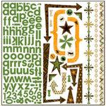 Bo Bunny Press - U Bug Me Collection - 12 x 12 Cardstock Stickers - U Bug Me Combo