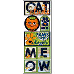 Bo Bunny Press - Pet Shop Collection - Cardstock Stickers - Cat-atude, CLEARANCE