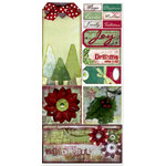 Bo Bunny Press - Believe Collection - Cardstock Stickers - Dreams Come True