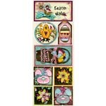 Bo Bunny Press - Sophie Collection - Cardstock Stickers - Easter Wishes, CLEARANCE