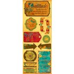 Bo Bunny Press - Forever Fall Collection - Cardstock Stickers - Gratitude