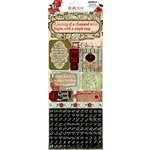 Bo Bunny - Serenity Collection - Cardstock Stickers - Good Fortune