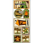 Bo Bunny Press - U Bug Me Collection - Cardstock Stickers - Great Outdoors, CLEARANCE