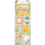 Bo Bunny - Country Garden Collection - Cardstock Stickers - Heaven Sent