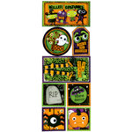 Bo Bunny Press - Boo Crew Collection - Halloween - Cardstock Stickers - Killer Costumes