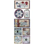 Bo Bunny Press - Snowy Serenade Collection - Cardstock Stickers - Magical Winter