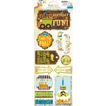 Bo Bunny Press - On The Go Collection - Cardstock Stickers - Party Time