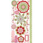Bo Bunny Press - Sweetie Pie Collection - Cardstock Stickers - Sweetie Pie Accessories