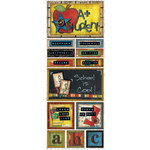 Bo Bunny - Learning Curve Collection - Cardstock Stickers - School Is Cool