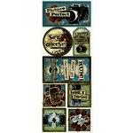 Bo Bunny Press - Mama-razzi Collection - Cardstock Stickers - Say Cheese