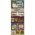 Bo Bunny Press - Cambridge Collection - Cardstock Stickers - Strength and Honor