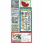 Bo Bunny Press - Summer Cottage Collection - Cardstock Stickers - Sunshine, CLEARANCE