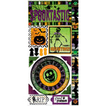 Bo Bunny Press - Spooktastic Collection - Cardstock Stickers - Spooktastic, CLEARANCE