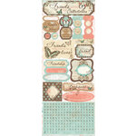 Bo Bunny - Gabrielle Collection - Cardstock Stickers - True Friend