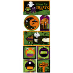Bo Bunny Press - Boo Crew Collection - Halloween - Cardstock Stickers - Time For Treats, CLEARANCE