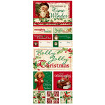 Bo Bunny Press - St. Nick Collection - Christmas - Cardstock Stickers - Time Of Wonder