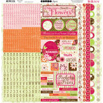 Bo Bunny Press - Vicki B Collection - 12 x 12 Cardstock Stickers - Vicki B Combo