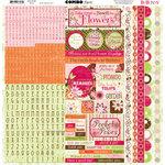 Bo Bunny Press - Vicki B Collection - 12 x 12 Cardstock Stickers - Vicki B Combo