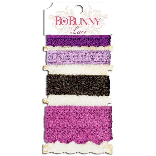 Bo Bunny - Lace - Plum Purple