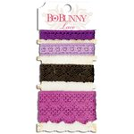 Bo Bunny - Lace - Plum Purple