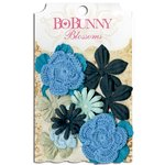 Bo Bunny - Blossoms - Bouquet - Denim Blue