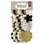 BoBunny - Flower Embellishments - Natural Petals
