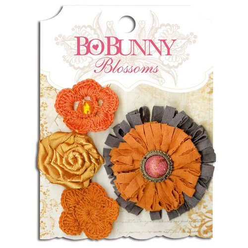 Bo Bunny - Blossoms - Dahlia - Harvest Orange